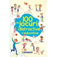 Corint - Carte cu activitati 100 de jocuri distractive si educative