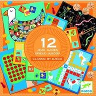 Djeco - 12 jocuri clasice