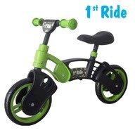 1stRide Prima mea bicicleta Green