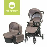 4Baby - Carucior 2 in 1 Atomic, Brown