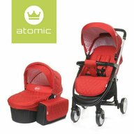 4Baby - Carucior 2 in 1 Atomic, Red