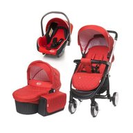 4Baby - Carucior 3 in 1 Atomic, Red