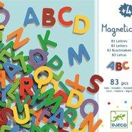 Djeco - 83 Litere magnetice