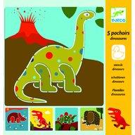 Djeco - Sabloane Dinozauri