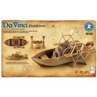 Academy - Kit constructie Barca cu vasle functionala DaVinci