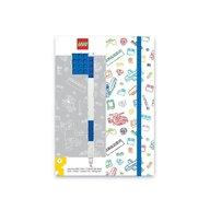 LEGO - Agenda cu pix, Albastru