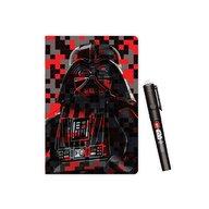 LEGO - Agenda Star Wars Darth Wader cu pix cu cerneala invizibila