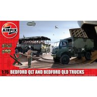 Airfix - Bedford Qlt And Bedford Qld Trucks