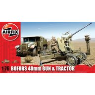 Airfix - Bofors 40Mm Gun And Tractor