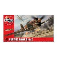 Airfix - Kit aeromodele 01003 avion Curtiss Hawk 81-A-2 scara 1:72