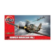 Airfix - Kit aeromodele 01010 avion Hawker Hurricane Mk.I scara 1:72