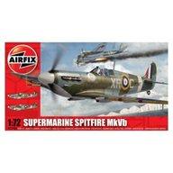 Airfix - Kit aeromodele 02046A avion Supermarine Spitfire MkVb scara 1:72