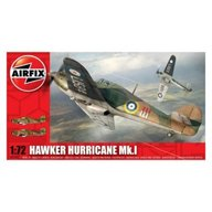 Airfix - Kit aeromodele 02067 avion Hawker Hurricane MkI scara 1:72