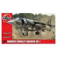Airfix - Kit aeromodele 3003 Avion Hawker Siddeley Harrier GR1 scara 1:72