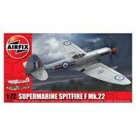 Airfix - Kit aeromodele 02033 avion Supermarine Spitfire F Mk.22 scara 1:72