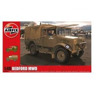 Airfix - Kit automodele 3313 Masina Bedford MWD Light Truck scara 1:48
