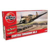 Airfix - Kit constructie avion Curtiss Tomahawk MK.II 1:48