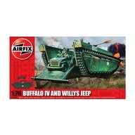 Airfix - Kit constructie Buffalo IV si Willis Jeep