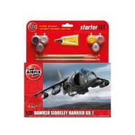 Airfix - Kit constructie si pictura avion Hawker Harrier GR1