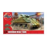 Airfix - Kit modelism 01303 tanc Sherman M4A2 Tank scara 1:76