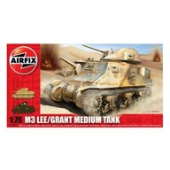 Airfix - Kit modelism 01317 tanc M3 Lee/Grant Medium Tank scara 1:76