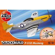 Airfix - Macheta avion de construit Mustang P-51D