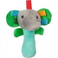 Akuku - Jucarie din plus zornaitoare Elefant
