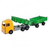 Androni Giocattoli Camion cu dubla remorca plastic pentru copii 50 cm