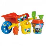Androni Giocattoli - Roaba Calimero pentru copii cu galetusa stropitoare si alte accesorii plaja