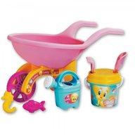 Androni Giocattoli - Roaba Tweety pentru copii cu galetusa stropitoare si alte accesorii plaja