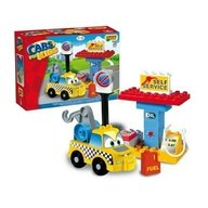Set constructie Unico Plus Cars for Kidz Masina tractare