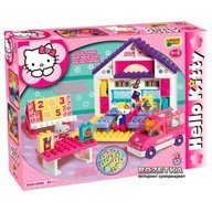 Androni Giocattoli Set constructie Unico Plus Hello Kitty Scoala 89 piese