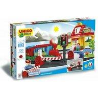 Set constructie Unico Plus tren mare