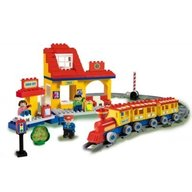 Set constructie Unico Plus tren mare