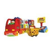 Androni Giocattoli Set unico camion cu o figurina 40 piese