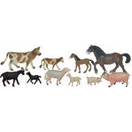 Miniland - Animale domestice cu puii set de 10 figurine