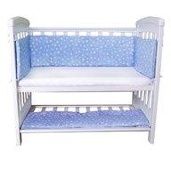 Sweet Stars - Aparatori laterale pentru pat cu laterala culisanta 120x60 cm Blue