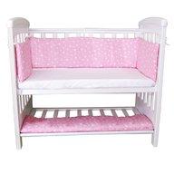Sweet Stars - Aparatori laterale pentru pat cu laterala culisanta 120x60 cm Pink
