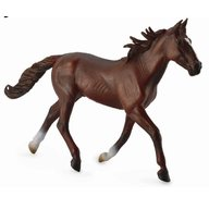 Collecta Armasar Standardbred Pacer Castaniu