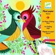 Djeco - Atelier creativ cu hartie plisata Pasari