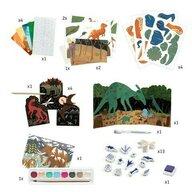 Djeco - Set creativ Lumea dinozaurilor