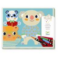 Djeco - Atelier de desen pentru copii Cuties