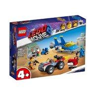 Lego - Atelierul construieste si repara al lui Emmet si Benny