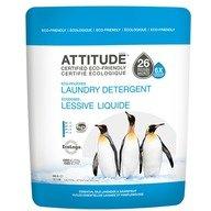 Attitude - Detergent lichid pernite, (6 X concentrat) cu uleiuri esentiale de Lavanda & Grapefruit / 26 pernite