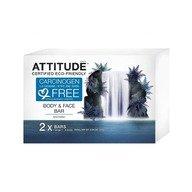 Attitude - Sapun solid calmant pentru fata si corp 2x120 gr.