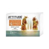 Attitude - Sapun solid hidratant pentru fata si corp 2x120 gr.