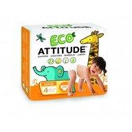 Attitude - Scutece ecologice de unica folosinta marime 4  (9-14kg)