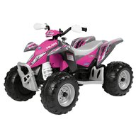 Peg Perego - ATV Polaris Outlaw Pink Power