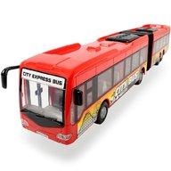 Dickie Toys - Autobus City Express Bus rosu