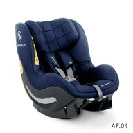 Avionaut - Scaun auto AeroFix Soft Line i-Size Spatar reglabil, Protectie laterala, 0-18 Kg, Albastru